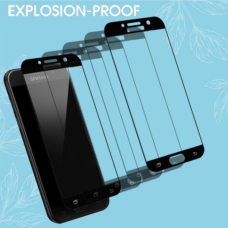 Protective Glass On The For Samsung A5 A7 A3 2017 2016 S7 Tempered Glass For Samsung J5 J7 J3 2016 2017 Screen Protector Film