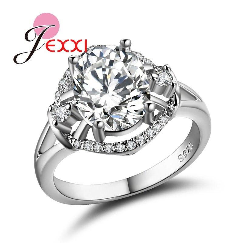 Silver Wedding Anniversary Gowns: Aliexpress.com : Buy JEXXI Clear Crystal Women Wedding