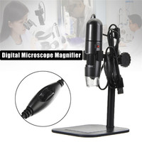 10 Mega Pixels High Resolution 1000X 8 LED USB Digital Microscope Endoscope Camera Microscope Magnifier With