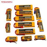 Rc brinquedo lipo bateria 2 s 7.4v 900 mah 1300 mah 2200 mah 3300 mah 4500 mah 6000 mah mah 25c 35c para rc avião zangão carro helicóptero 2 s lipo Peças e Acessórios     -