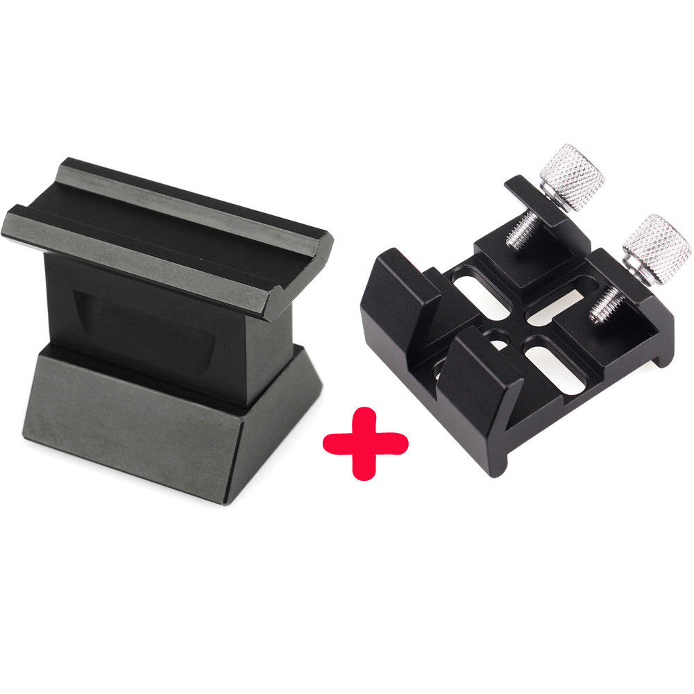 Dovetail Board Dot Finder Mounting Bracket With Finderscope Dovetail Slot for Astronomy Monocular Telescope Hot W2597 takahashi finder slot telescope accessories for takahashi mirror to skyatcher vixen slot page 6