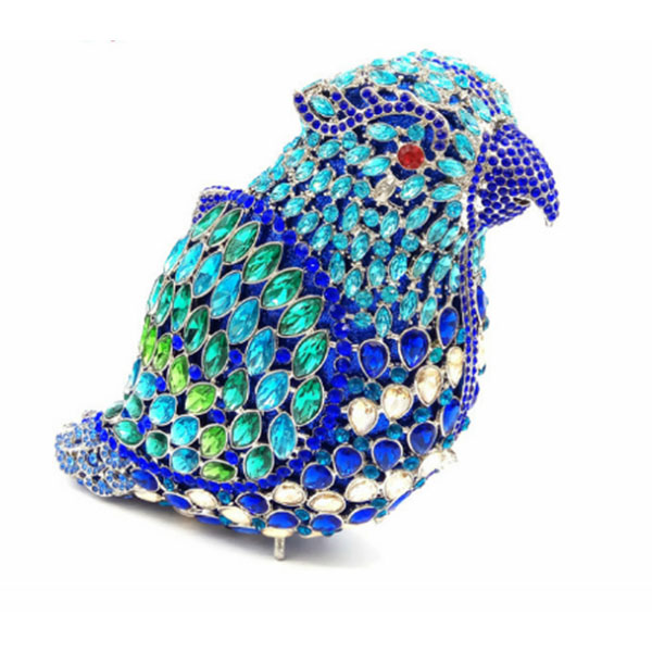 Women Party Handmade Pearl bird Clutch Bag Bridal Wedding Beaded Hand bags Metal Clutches Hard Case Crystal Beading Evening Bag colourful bird women evening luxury bags crystal clutches laides evening bag female party hard case bags wedding clutch purses