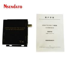 HDMI TO DVB-T Modulator Convert HDMI Extender signal to HD digital DVB-T TV Receiver Support RF Output