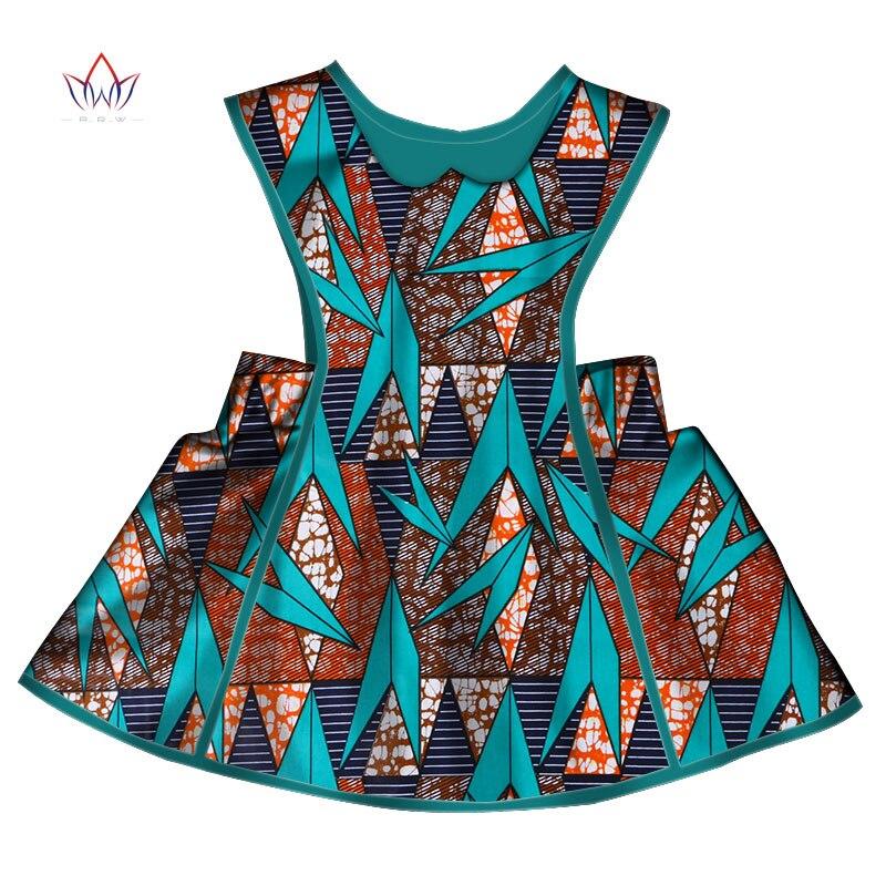 2018 Afrikanische Frauen Kleidung Kinder Dashiki Traditionellen Baumwolle Kleider Passenden Afrika Print Kleider Kinder Sommer Brw Wyt196 Ideales Geschenk FüR Alle Gelegenheiten