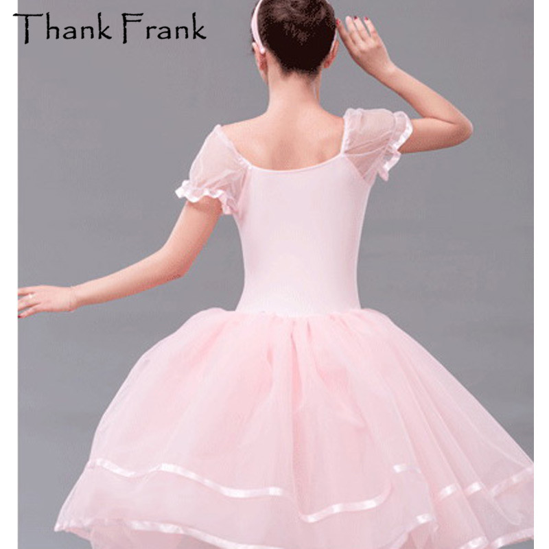 2e3a10ce79e Pink Romantic Ballet Tutu Dress Kids Adult Sweet Performance Dance ...