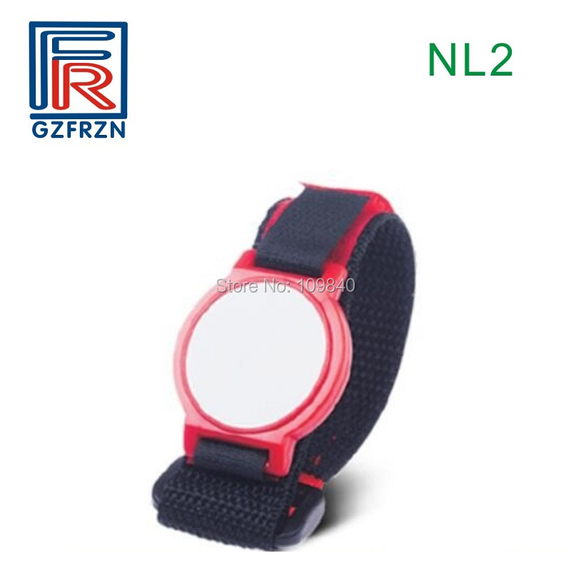 10pcs NL2 style RFID Ultralight Nylon NFC wristband/bracelet/card/tag 13.56mhz adjustable for access control system Payment customized printing cashless payment iso14443a 13 56mhz ultralight fabric rfid woven bracelet wristband for festival events