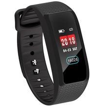Купить с кэшбэком CHKEPZ B61 Smart Wristband Blood Pressure Heart Rate Monitor Smart Watch Fitness Bracelet Men Wemen Smart Band for xiaomi3 honor
