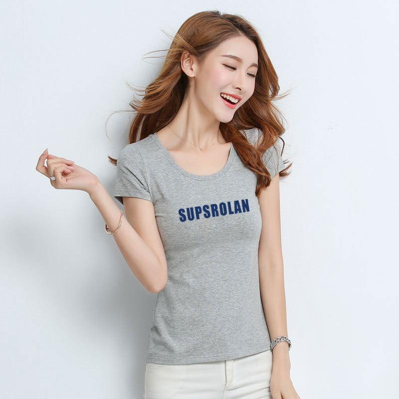 T Shirt Frauen Neue t-shirts frauen 2018 vogue Vintage t-shirts baumwolle frauen O Hals Kurzarm 600
