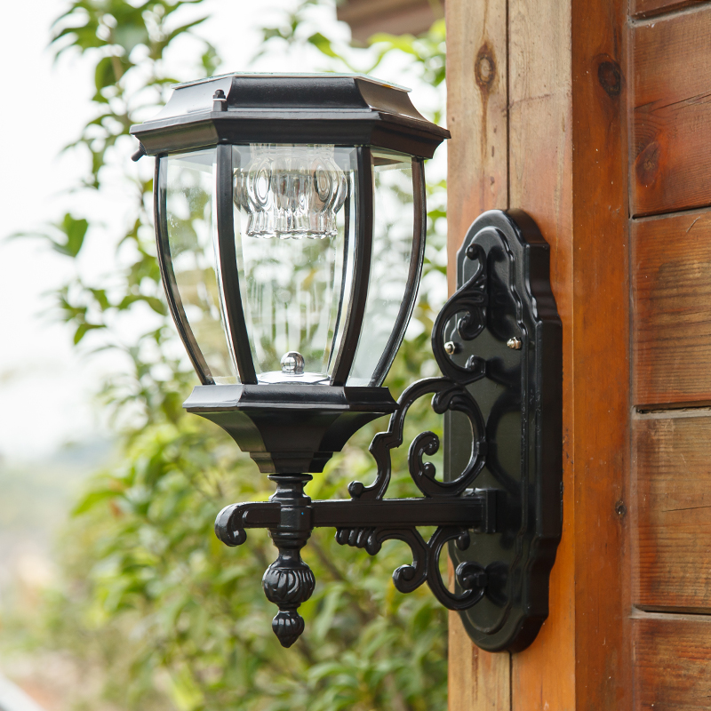 Outdoor Light Solar garden lights outdoor wall lamp wall lamp light sensing super bright lamp waterproof household solar FG209
