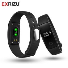 EXRIZU V05C Smart Band Sport Activity Tracker Heart Rate Monitor Pedometer Smartband Fitness Bracelet Health Pedometer Wristband