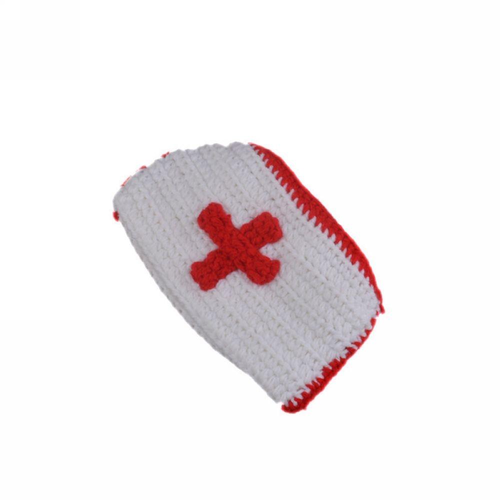 Baru Busana Bayi Topi Topi Bayi Katun Laki Laki Perempuan Dokter