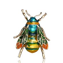 คุณภาพสูง Vintage Enamel Bumble Bee(China)