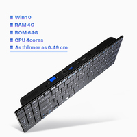 Minipc Windows 10 Intel 1 33Ghz Atom Z8350 Emmc HDMI VGA Wireless Mouse Keyboard Mini Pcs