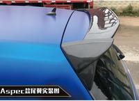 Carbon Fiber CAR REAR WING TRUNK LIP SPOILER FOR Volkswagen GOLF 7 MK7 GTI or R 2014 2015 2016 2017 2018 Aspec Style