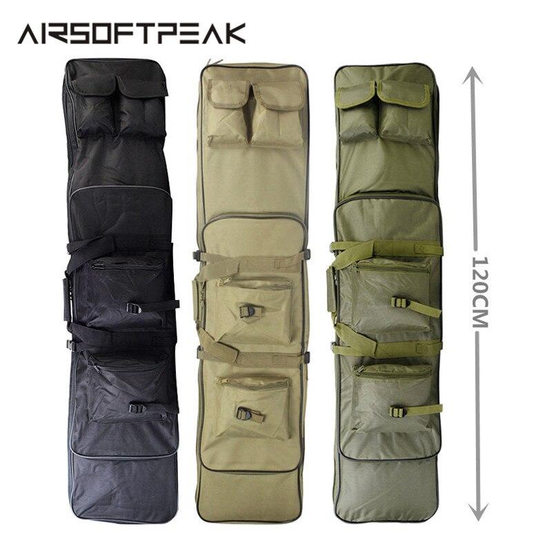 Military Bag 120cm Rifle Tactical Gun Bag Shotgun Handbag With Shoulder Straps Handbag Shot Gun Rifles Hunting Carry Gun Case