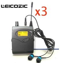 Leicozic 3 шт. BK2050 приемники SR2050 монитор iem приемники для систем монитора и в ухо Мониторы профессиональный сценический монитор