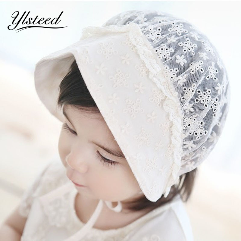 945dcef1f7cf Newborn Summer Hats Girls Princess Hat Infant Toddler Sunhat breathable Baby  Cap with holes Gorro Newborn Fotografia Acessorios