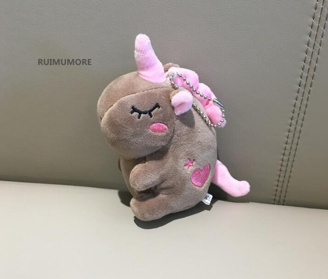 Multi Sizes and Designs, horse toys , Baby's Plush horse , 7-13CM Key chain horse animal stuffed Plush Toy doll