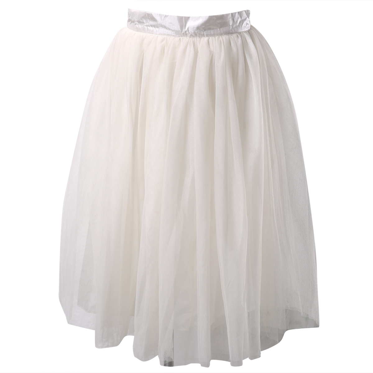 Нижняя юбка из шифона