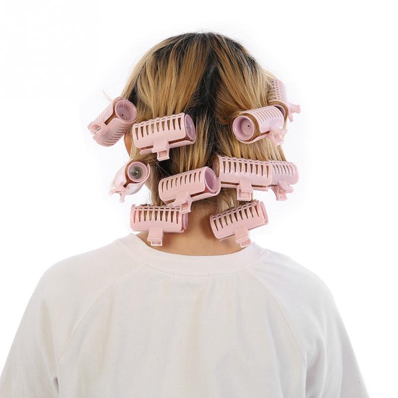 Image 5 - Электрический ролик для волос, с подогревом, 10 шт./компл., 205 3 см, инструменты для укладки волос, массажный ролик, папильотки и аксессуарыБигуди   -