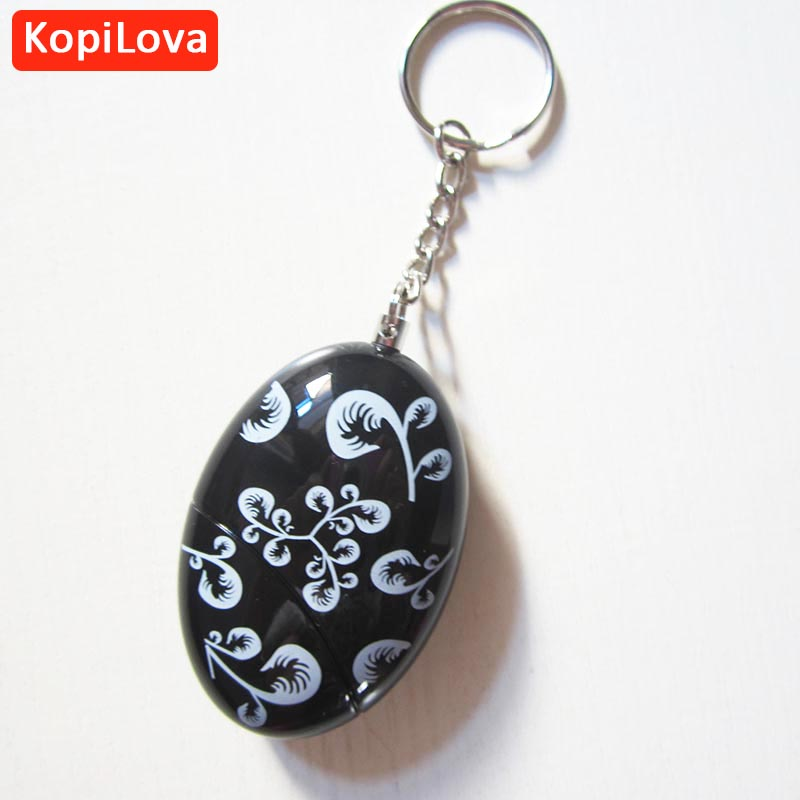 LopiLova 10pcs Emergency Personal Alarm Safe Anti-rob Alarm Self Defense Alarm Attack Protection Key Chain