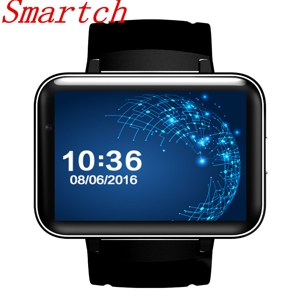 Smartch Original DM98 Smart Watch MTK6572 Android 5.1 3G Smartwatch 900mAh Battery 512MB Ram 4GB Rom Camera Bluetooth GPS Smart