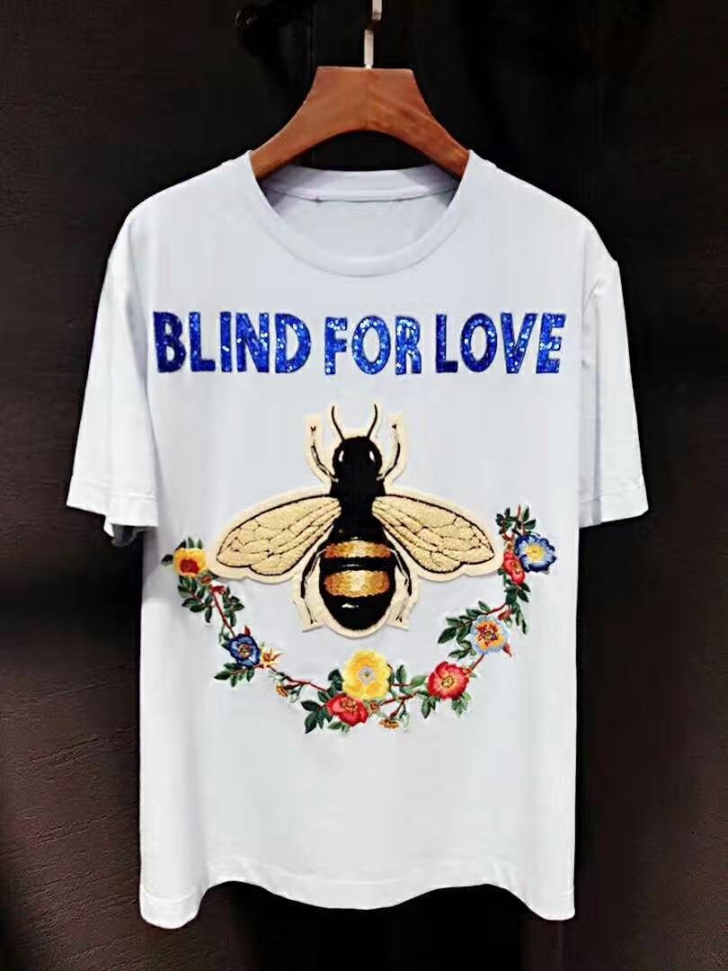 Design tshirt online free shipping - 3407 High Quality 2017 Hot Sale Fashion Women Spring Summer T Shirt Hot Sale Fashion Design Tshirt Free Shipping