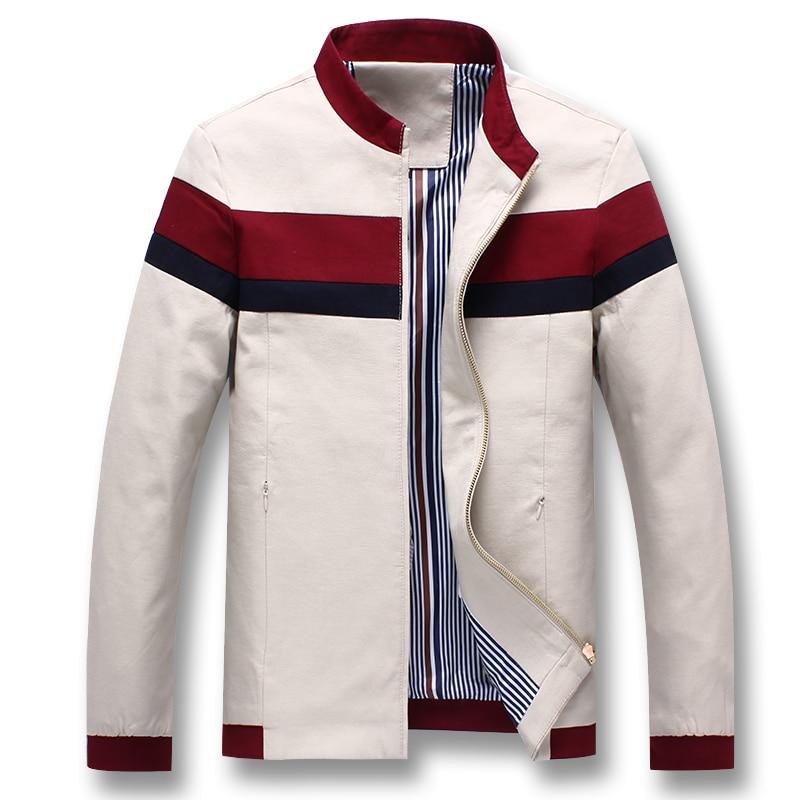 iSurvivor 2019 Men Spring Patchwork Jackets and Coats Jaqueta Masculina Male Casual Fashion Slim Fitted Zipper Innrech Market.com