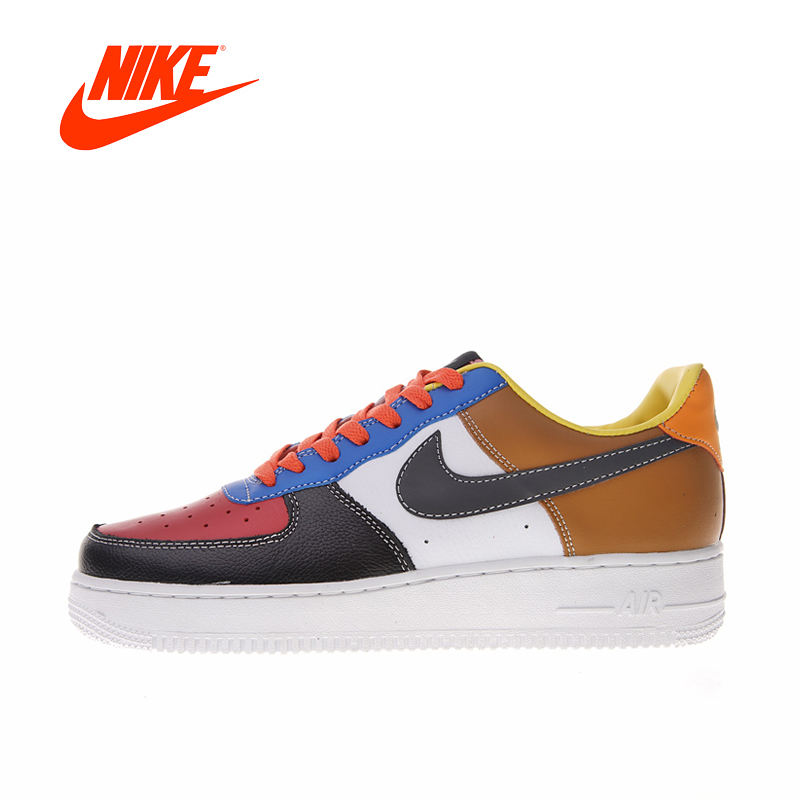 Original New Arrival Authentic Nike Air Force 1 AF1 Women's Low Skateboarding Shoes Comfortable Sneakers Good Quality 596728-105 original new arrival authentic nike air force 1 low just do it women s skateboarding shoes sneakers good quality 616725 800