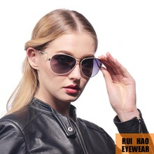 RUI HAO EYEWEAR Women Polarized Sunglasses Glasses Fashion Aviator Goggles Driving 5 Color oculos Sun Glasses de sol feminino