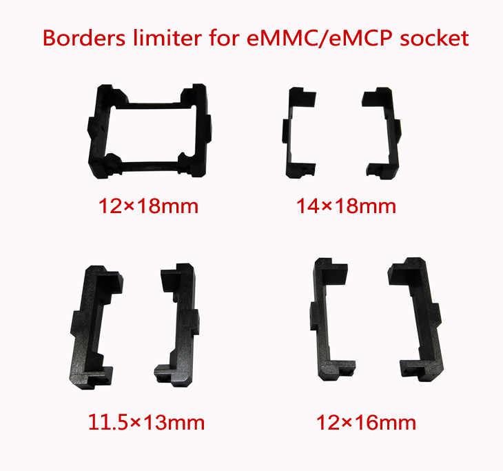 """1 יחידות eMMC/שקע מבחן eMCP גבולות מגביל מסגרת guider גודל 12x18 מ""""מ, עבור שקע מבנה עליון פתוח"""