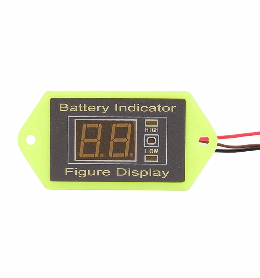 New Battery Low Voltage Alert Alarm Monitor Tester Charge Voltmeter Display 12V