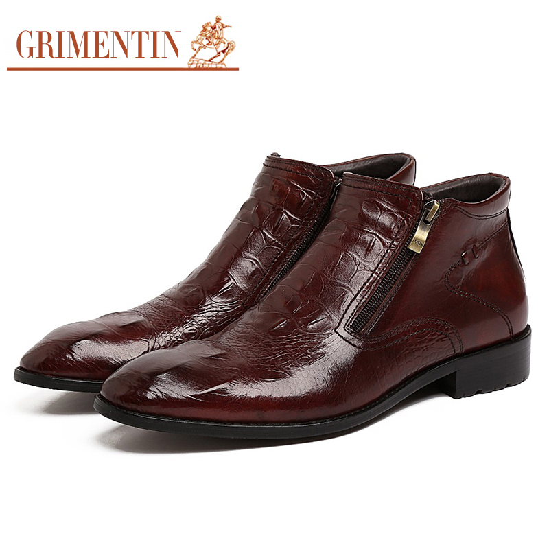 Online Buy Wholesale mens designer dress boots from China mens ...