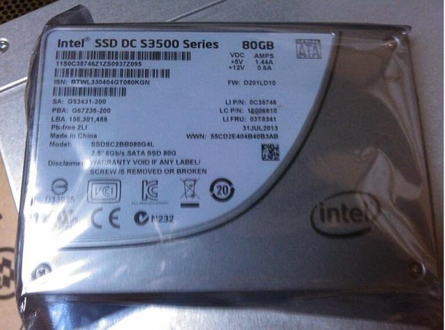 "SSD DC S3500 80G 2.5"""
