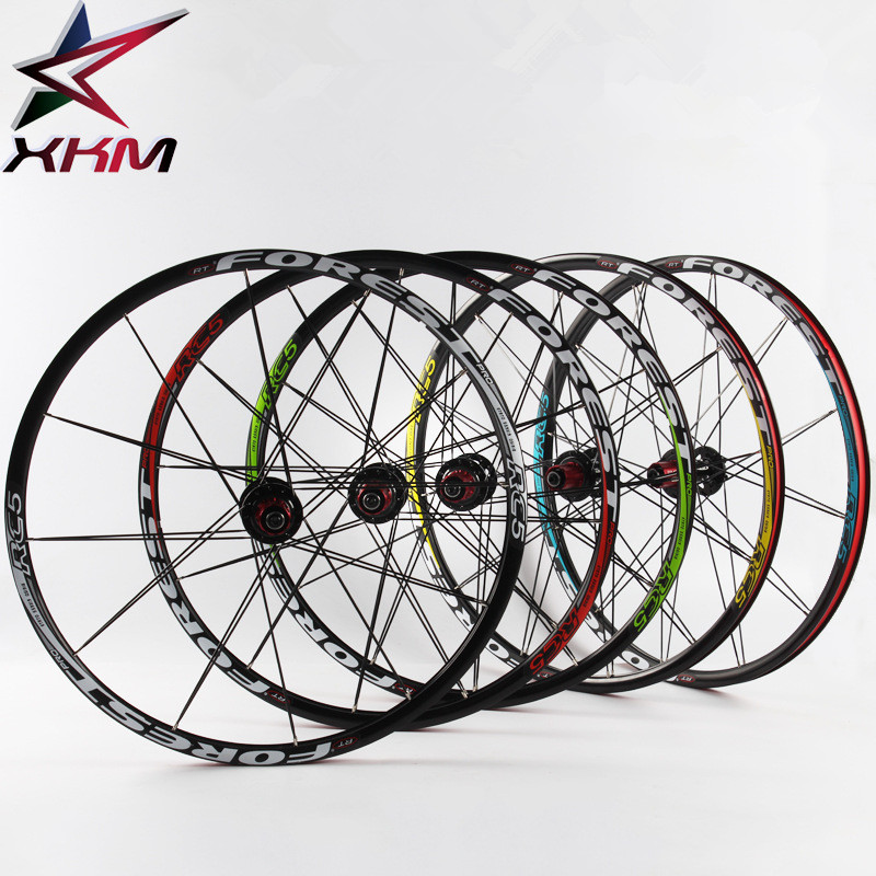 2018 Ultralight 27.5 Inch Bicycle Wheel set 24 Hole MTB Bike Wheel Front 2 Rear 5 Bearings 8-10 Speed Cassette Bicycle parts west biking bike chain wheel 39 53t bicycle crank 170 175mm fit speed 9 mtb road bike cycling bicycle crank