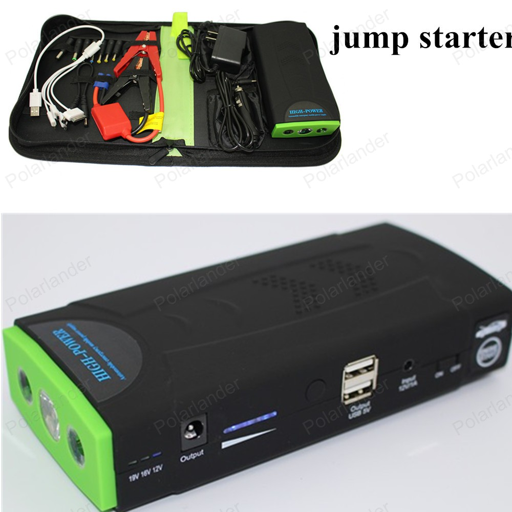 best selling power bank 12V portable mini jump starter 10000mAh car jumper booster power battery charger mobile phone laptop