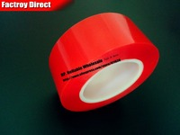 0 2mm Thick 70mm 25M Strong Double Adhesive Acrylic Glue Tape For Glass Panel Frame