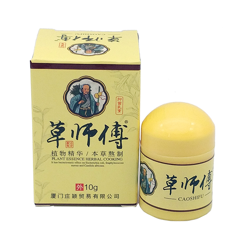 10g Natural Chinese Medicine Herbal Anti Bacteria Cream Psoriasis Eczema Ointment Treatment High Quality Herbal Cream image