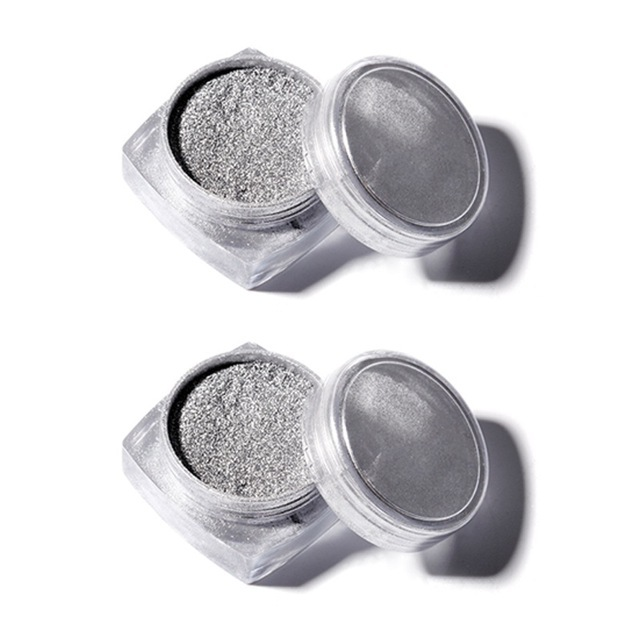 2PCS SILVER POWDER
