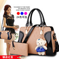 women's handbag messenger bag shoulder bag autumn and winter women's handbag big bag large capacity Patent Leather Q3