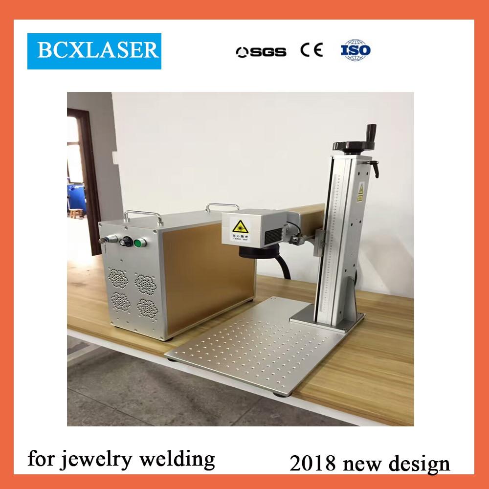 Fournisseur chinois 20 w 30 w 50 w CNC Animal oreille étiquette bijoux Fiber Laser Machine de marquage pour le métal