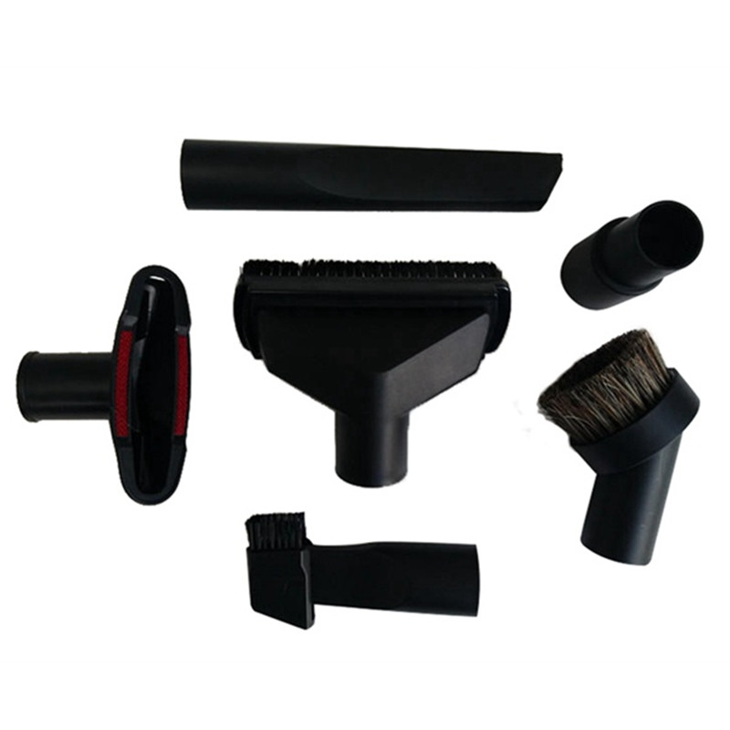 Universal Vacuum Cleaner Accessories Cleaning Kit Brush Nozzle Crevice Tool For 32mm& 35mm Standard Hose 6pcs