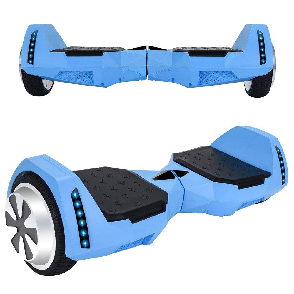 Самобалансирующийся скутер 4.0Ah большая емкость батареи Максимальная нагрузка 100 кг алюминиевый сплав красивый вид светодиодный Большой Пе...