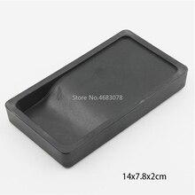 1 шт. 14x7,8x2 см пластиковая легкая портативная платформа inkslab не повреждает безопасные и прочные кисти каллиграфия принадлежности