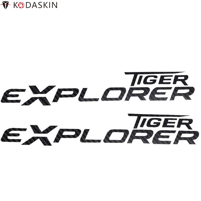 KODASKIN Stickers Motorcycle Emblems Logos Carbon Decals