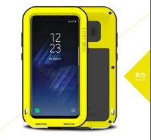 Dustproof shockproof Aluminum Metal Mobile Phone Case Cover For Samsung Galaxy S8/S8 Plus,Galaxy A3(2017)/A5(2017)