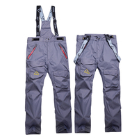 High Quality Outdoor Thick Winter Men Snowboard Skiing Pants Waterproof Multicolor Warm Breathable Ski Pant Mountain