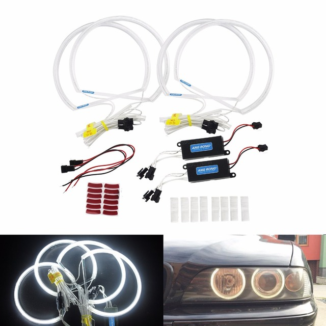Angrong E46 Non Projector Headlight Reflector Ccfl Angel Eye Kit