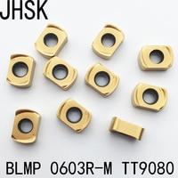 NEW 10pcs BLMP 0603R M TT9080 CNC blade Carbide in U drill bits|carbide blade|carbide 10pcscarbide cnc -