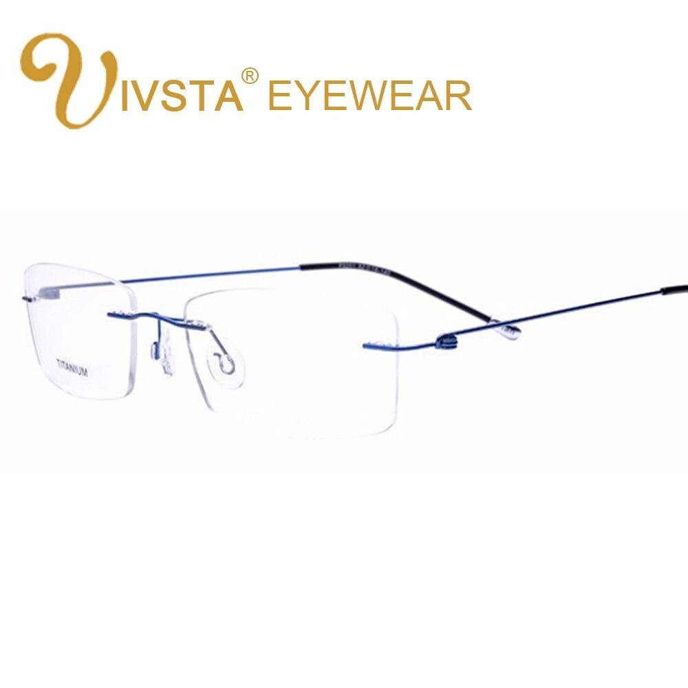 8642a93909 IVSTA de titanio gafas hombres memoria cuadrado gafas marco óptico de  espectáculo gafas mujeres receta lectura miopía montura